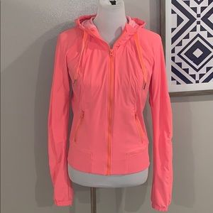 Lululemon lined hooded zip up jacket